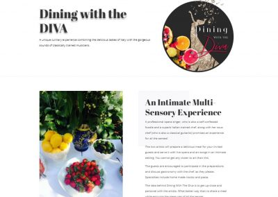 www.DiningWithTheDiva.com
